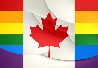 Canada Gay Flag