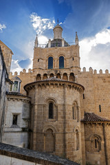 Coimbra, Portugal . Monastery of the Holy Cross .