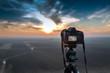 Camera on tripod - 80893842
