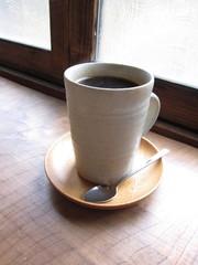 陶器のコーヒー