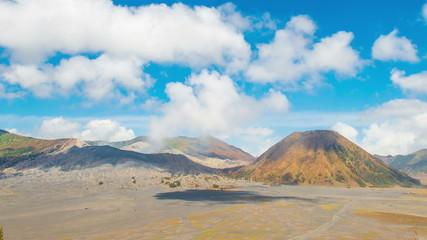 Time Lapse Smoke Of Bromo Mount, Indonesia