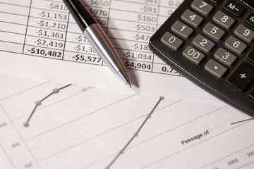 Abstract of business expenses.