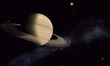 Saturn with Moons - 80895014