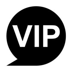 Icono texto VIP