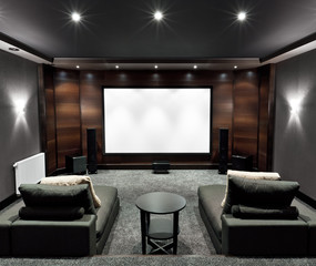 Home theater interior