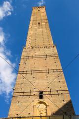 Torre degli Asinelli tower in Bologna. Italy