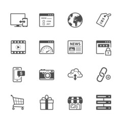 SEO and Internet Icons