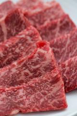焼肉用のカルビ肉