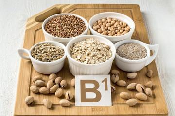 Foods containing vitamin B1