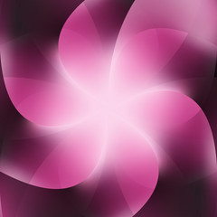 Pink Background Abstract Business Flower Vector