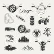 Set of extreme sports emblems, badges, labels and designed - 80903418