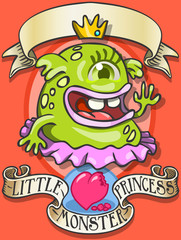 Game Tale - Spellbound Little Monster Princess - Blob