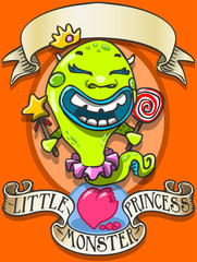 Game Tale - Spellbound Little Monster Princess - Bala