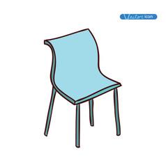 Chair icon, vector illustration.