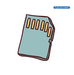 Micro sd card Icon