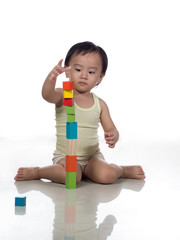 Playing with blocks 3