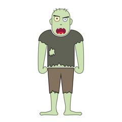 zombie simple illustration