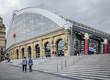 Leinwanddruck Bild - Lime Street Station, Liverpool, UK