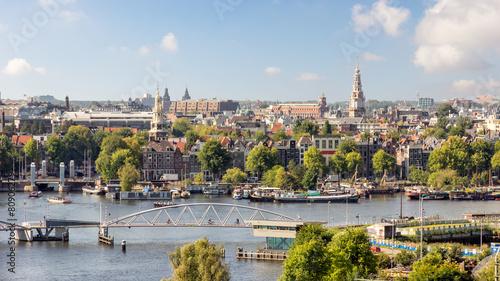 Fotobehang Noord Europa Amsterdam
