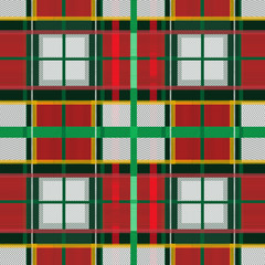 Scottish tartan design