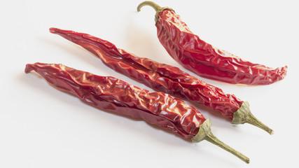 Pimientos picantes variedad chile