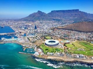 Kapstadt vom Helikopter aus