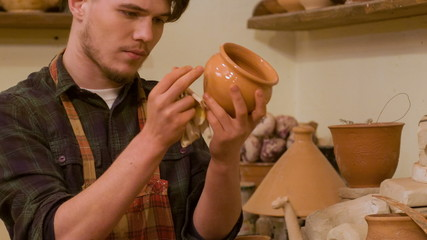Interesting work of potter
