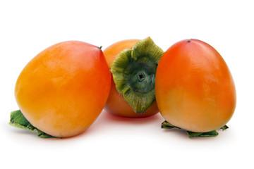 three persimmons