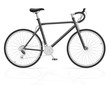 road bike with gear shifting vector illustration - 80912859