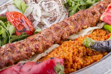 Turkish Kebab Adana, Urfa, Beyti, Abbaganus, Sogurme