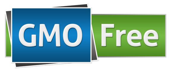 GMO Free Blue Green Horizontal