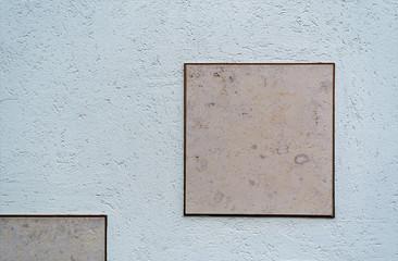 Unbeschriftete Grabsteine