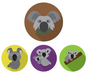 Funny Koala Icons