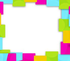 colorfully border background