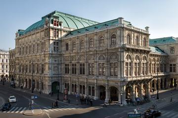 Wiener Staatsoper - Rückansicht
