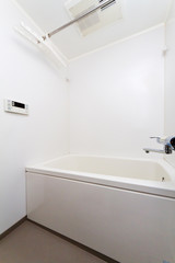 日本のアパート マンションの浴室apartment of Japan
