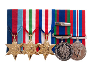 World War II Canadian medals