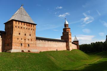 Veliky Novgorod fortress wall