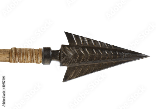 Staande foto Beijing Antique old arrowhead