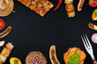grilled meat background - 80918264