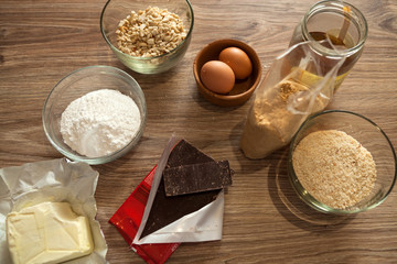 Preparing Homemade Cake