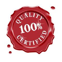 Quality Certified Guarantee Warranty