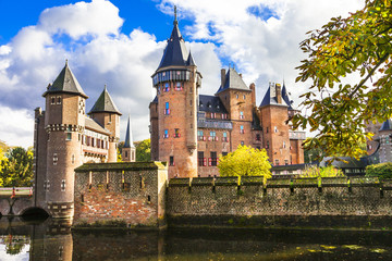 fairy tale castle De Haar, Holland (near Utrecht)