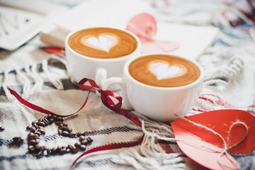 2 чашечки кофе