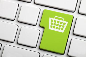 Online Shopping Computer Key