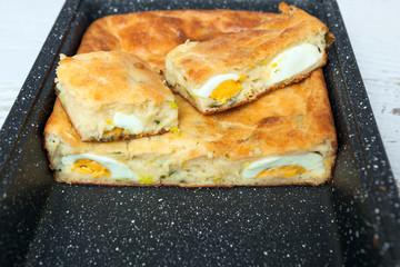 Homemade Egg Pie
