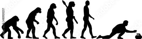 Fototapeta Curling Evolution