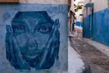 Fototapety Kasbah of the Udayas Graffiti, Rabat