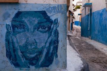 Kasbah of the Udayas Graffiti, Rabat