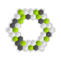 Abstract hi-tech vector background